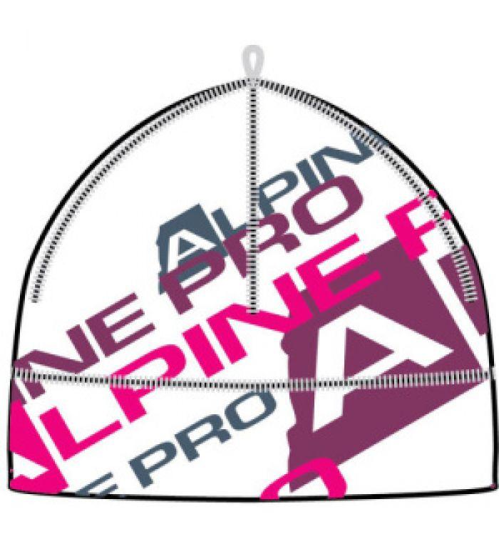 ALPINE PRO LILIS Dámská čepice LHAD012000PB bílá S