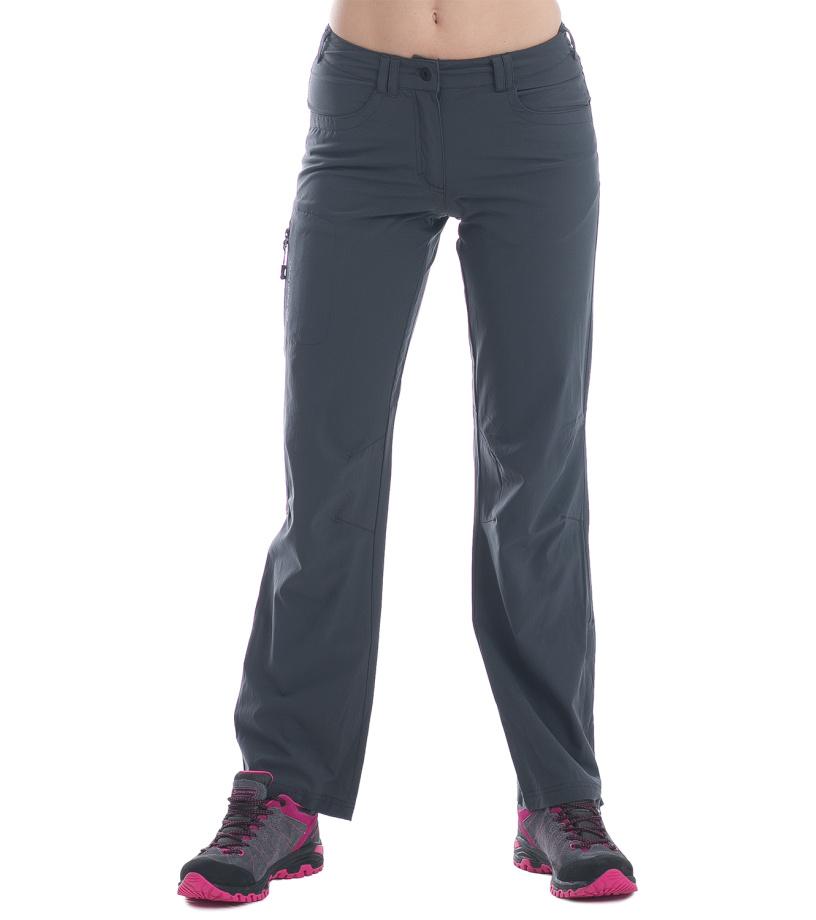 ALPINE PRO Amelie Dámské softshell kalhoty LPAE064779 tmavě šedá 44