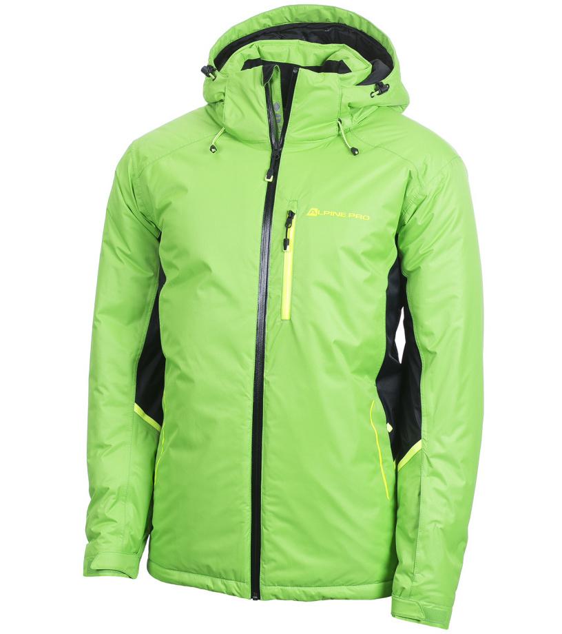 ALPINE PRO FLEMER Pánská bunda MJCF103543 flash green L