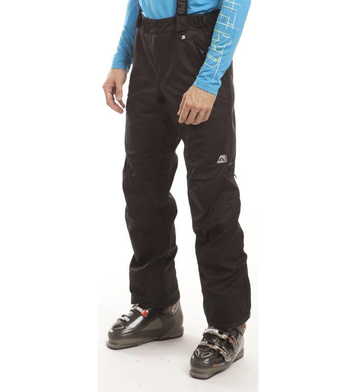 ALPINE PRO LAVINIA Pánské softshell kalhoty MPAB035990 černá XXL