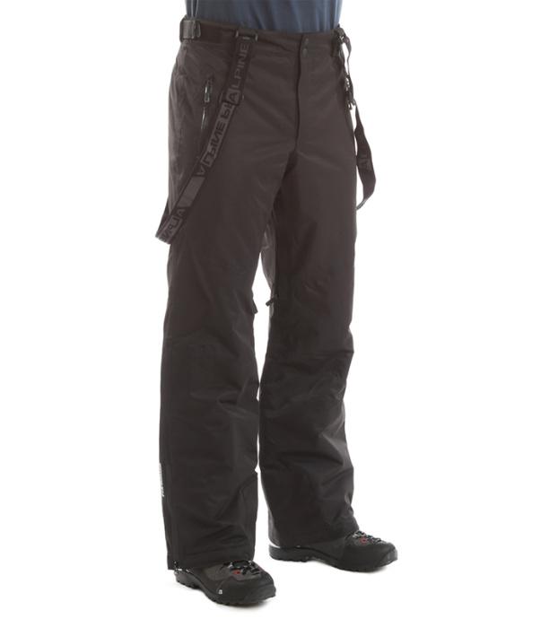 ALPINE PRO SANGO Pánské kalhoty MPAD063990 černá M