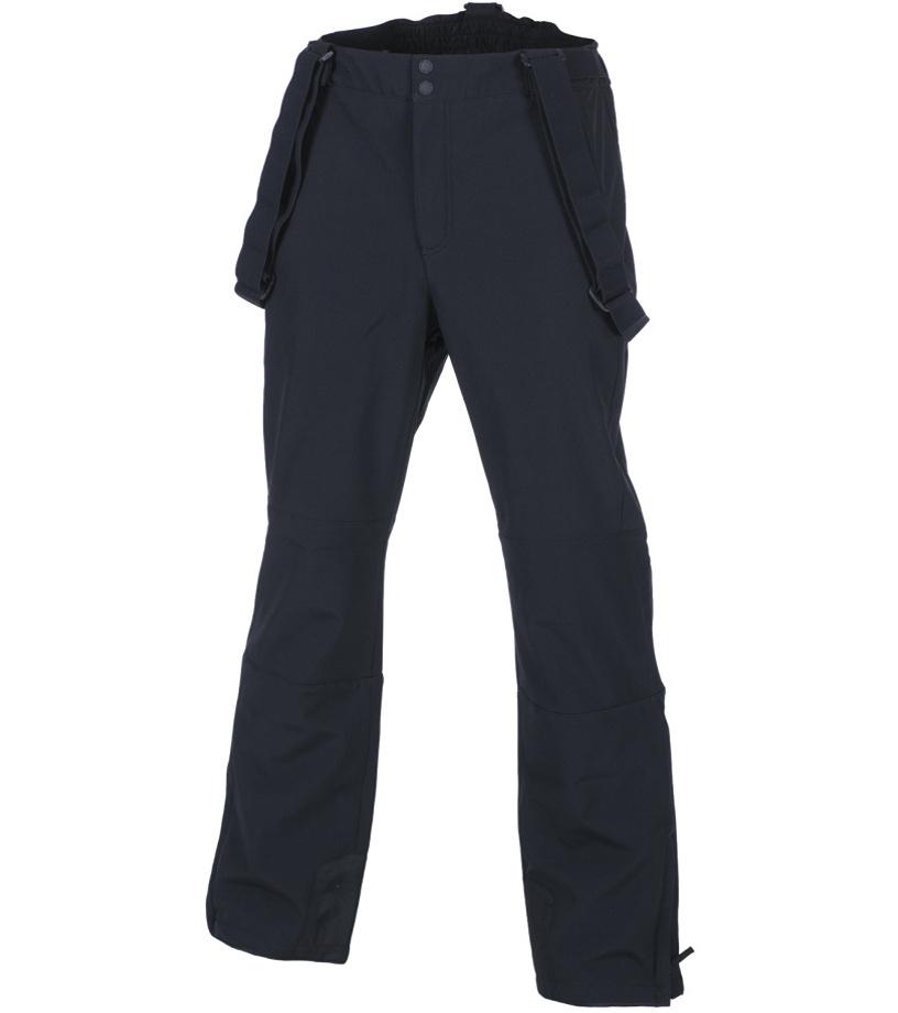 ALPINE PRO NEX Pánské softshellové kalhoty MPAF130990 černá XXL
