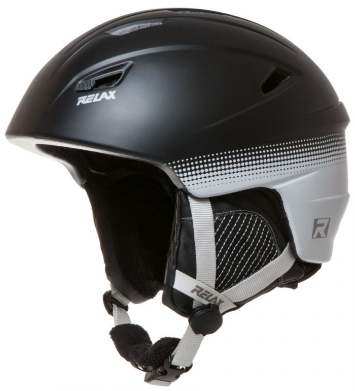 RELAX WILD Lyžařská helma RH17D černá L
