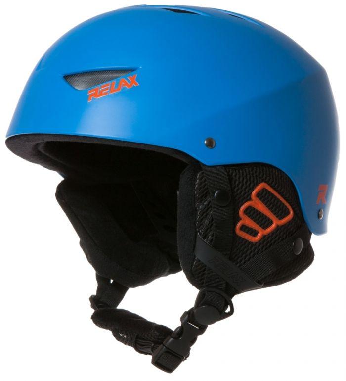 RELAX SOLE Lyžařská helma RH19E modrá M