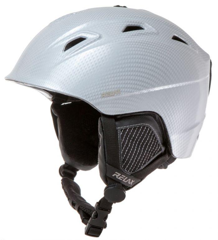 RELAX Helma Lyžařská helma RH20E bílá L
