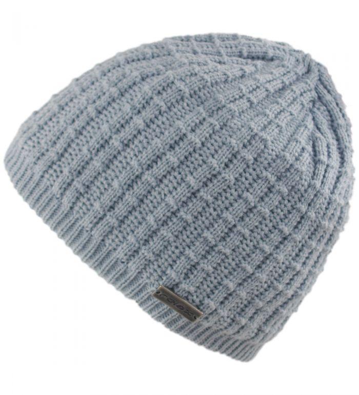 RELAX Zimní čepice RKH81E světlá šedá