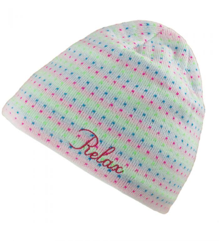 RELAX Zimní čepice RKH97A bílá