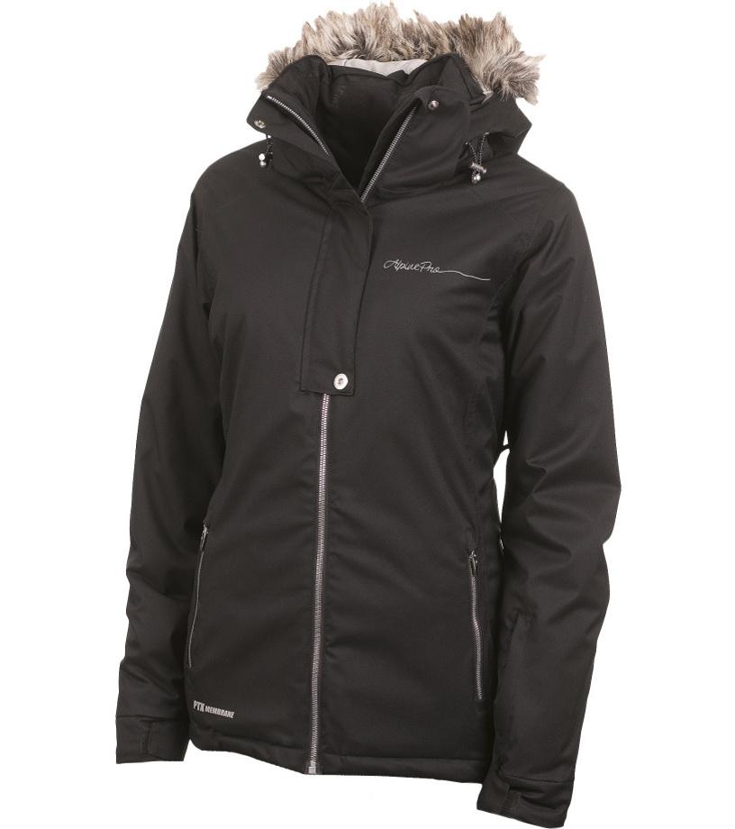 ALPINE PRO DORA 2 Dámská bunda LJCF085990 černá S-L