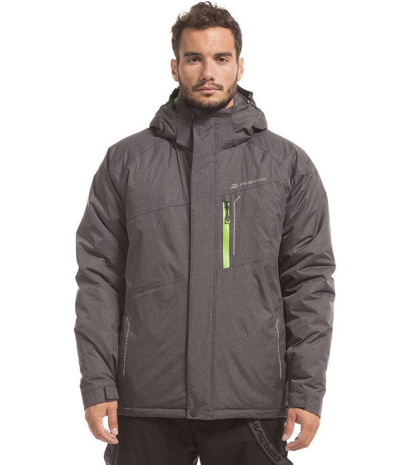 ALPINE PRO FLEMER Pánská bunda MJCF103990 černá XL