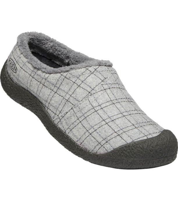 KEEN HOWSER WRAP SLIDE W Dámská zimní obuv 10007927KEN01 grey felt/plaid 5(38)