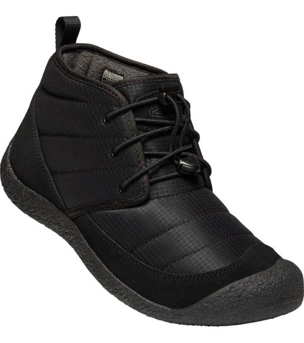 KEEN HOWSER II CHUKKA M Pánská zimní obuv 10007937KEN01 black/black 8(42)