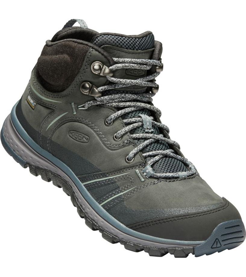 KEEN TERRADORA LEATHER MID WP W Dámské outdoorové boty 10000803KEN01  tarragon turbulence 5 f56f30a933