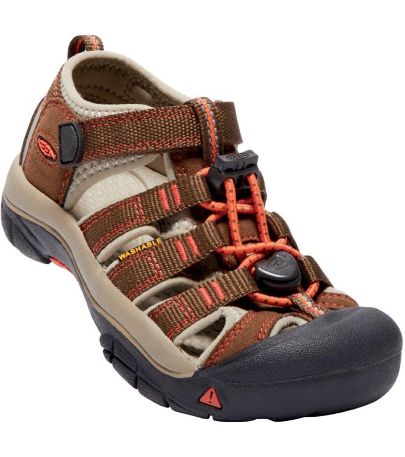 KEEN NEWPORT H2 K Dětské sandály KEN1201127910 dark earth spicy orange  12(31) f23a224a17