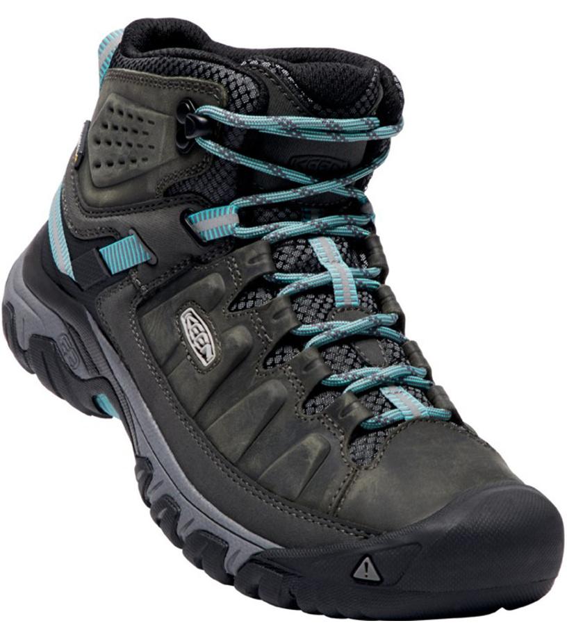KEEN TARGHEE III MID WP W Dámská treková obuv KEN1204146001 alcatraz/blue turquoise 6(39)