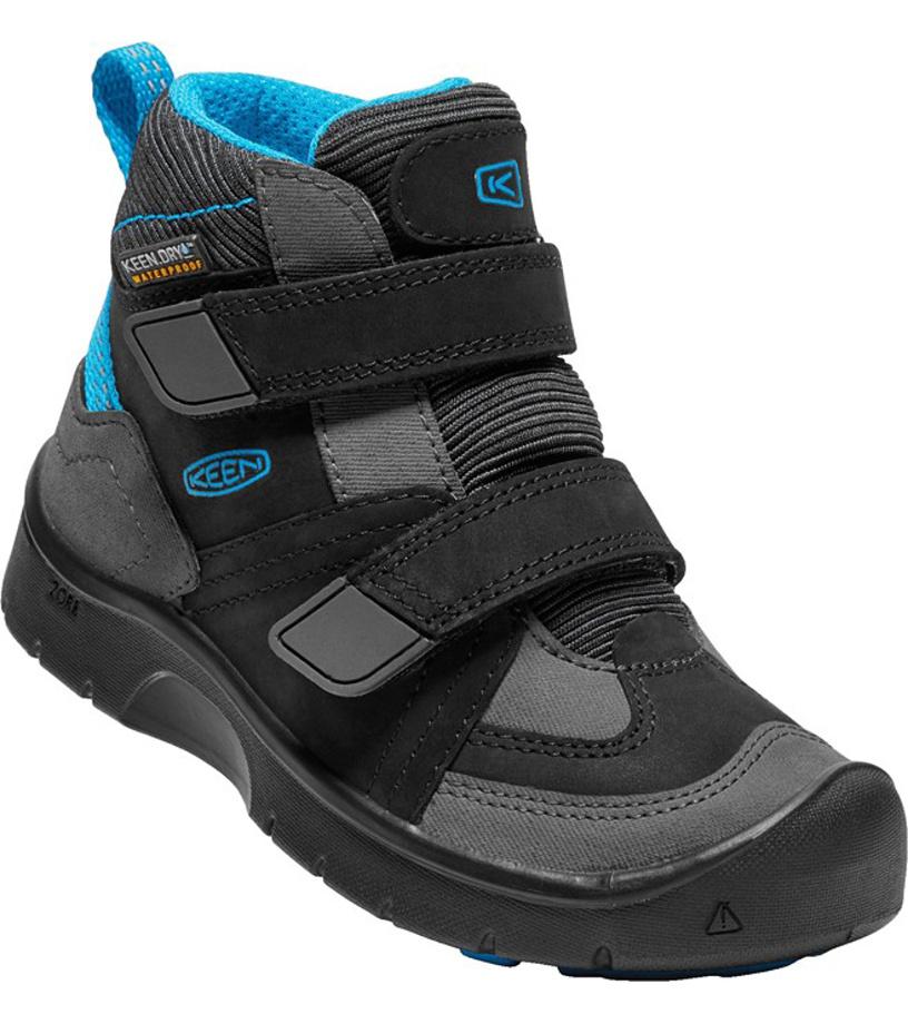 KEEN HIKEPORT MID STRAP WP K Dětské boty KEN1213131701 black blue jewel 8(25 f972580717