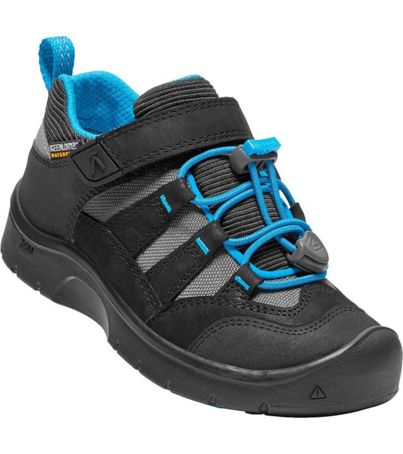 KEEN HIKEPORT WP K Dětské boty KEN1213132101 black/blue jewel 10(29)