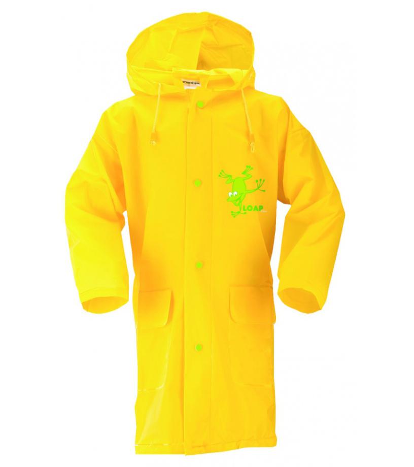 LOAP SMOKY Dětská pláštěnka .L6047C37C VbYellow 5