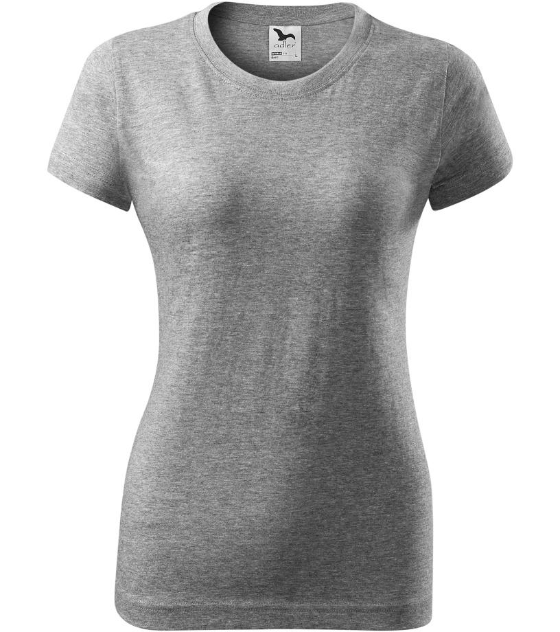 ADLER Basic 160 Dámské triko 13412 tmavě šedý melír