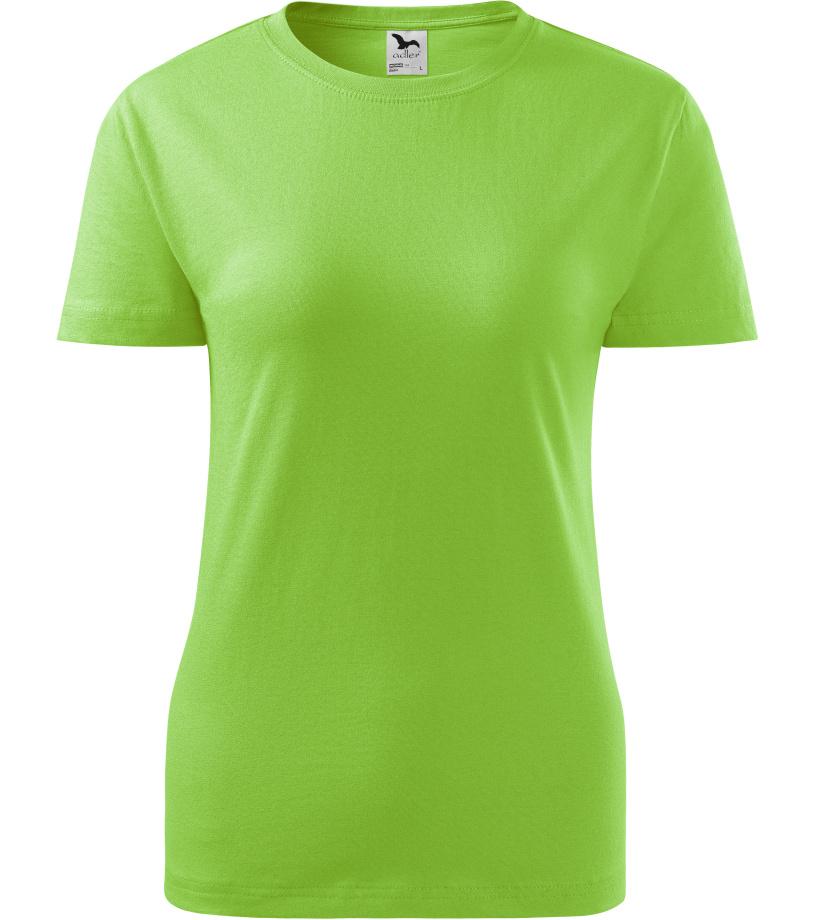 ADLER Basic 160 Dámské triko 13492 zelené jablko XS