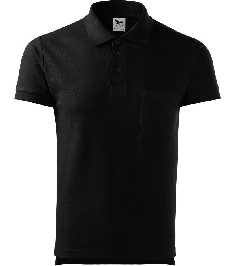 ADLER Cotton Pánská polokošile 22X01 černá S