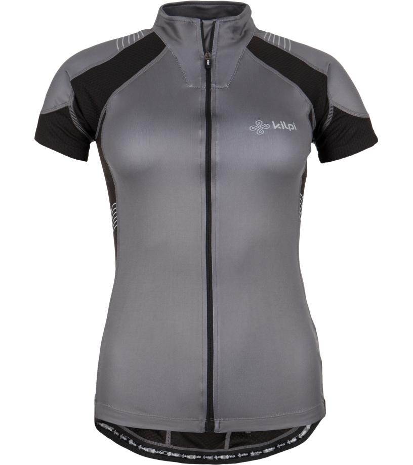 KILPI Cyklistický dres FLASH EL0168KIBLK Černá