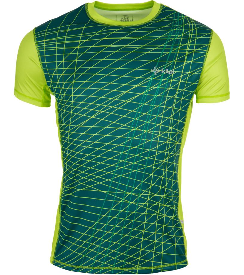 KILPI Pánské tričko RAINBOW EM0057KILGN Zelená XXL
