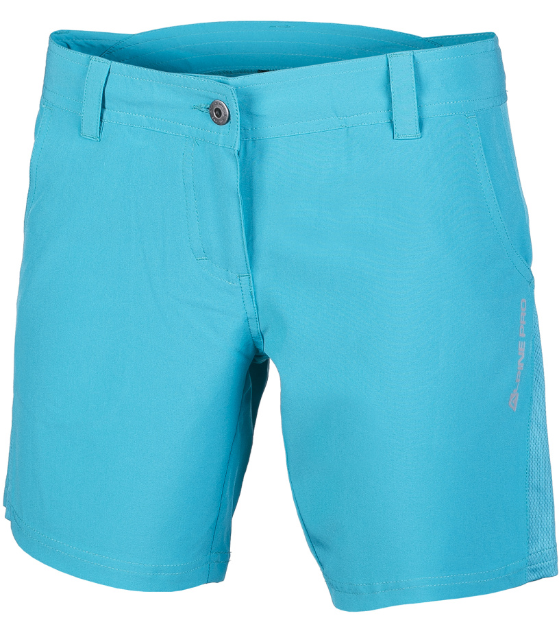 ALPINE PRO CLARETTA Dámské šortky LPAG017655 modrá