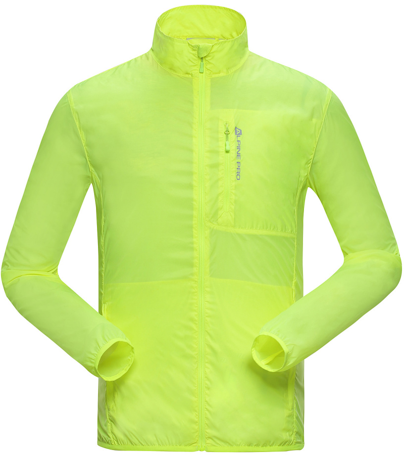 ALPINE PRO BERYL Pánská bunda MJCG138530 reflexní žlutá XXL