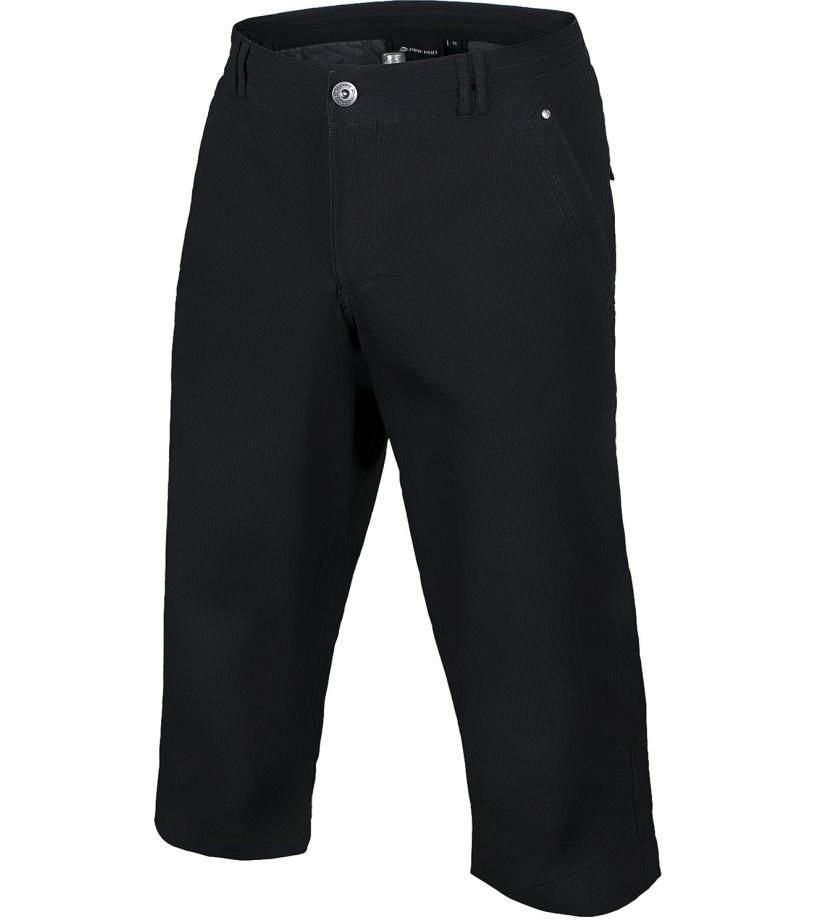 ALPINE PRO JEFFREZ 2 Pánské 3/4 kalhoty MPAG123990 černá