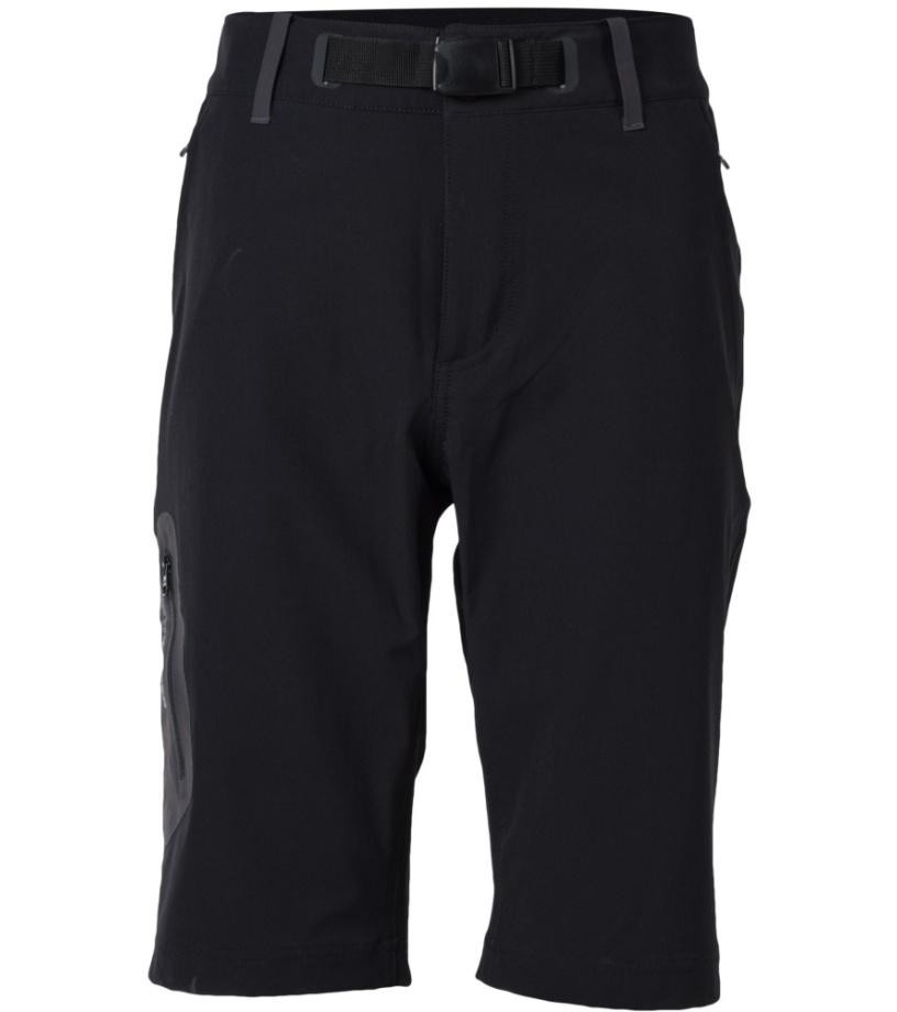 NORTHFINDER YUSUF Pánské šortky BE-3180OR269 černá