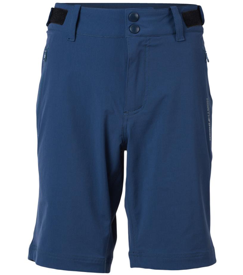 NORTHFINDER ALDEN Pánské šortky BE-3182OR298 tmavě modrá