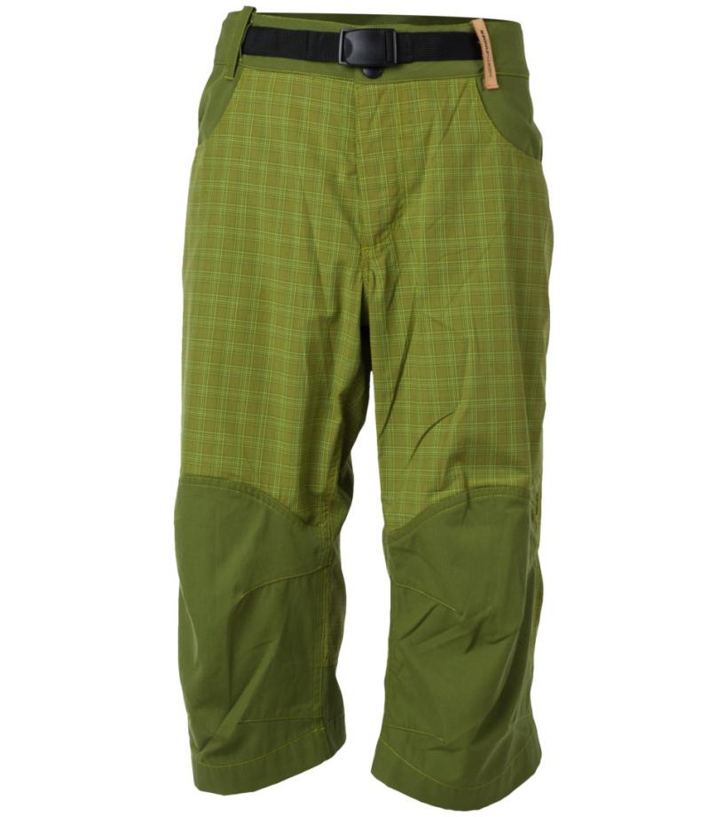 NORTHFINDER KEATON Pánské kalhoty BE-3188OR8250 zelená