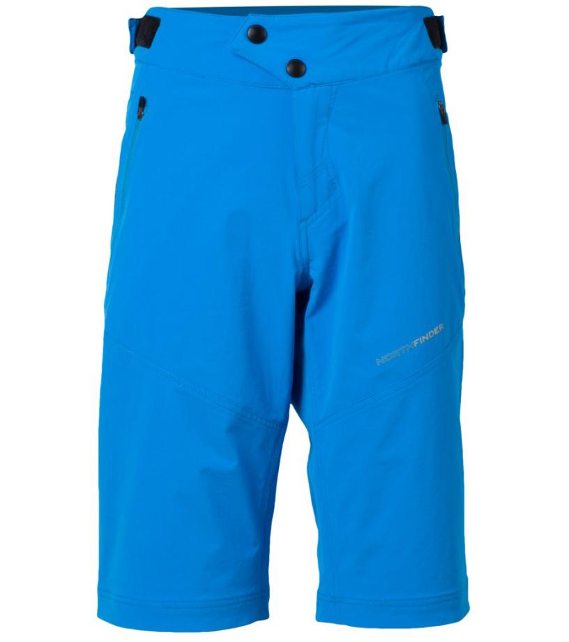 NORTHFINDER JAGGER Pánské šortky BE-3190SII396 světle modrá