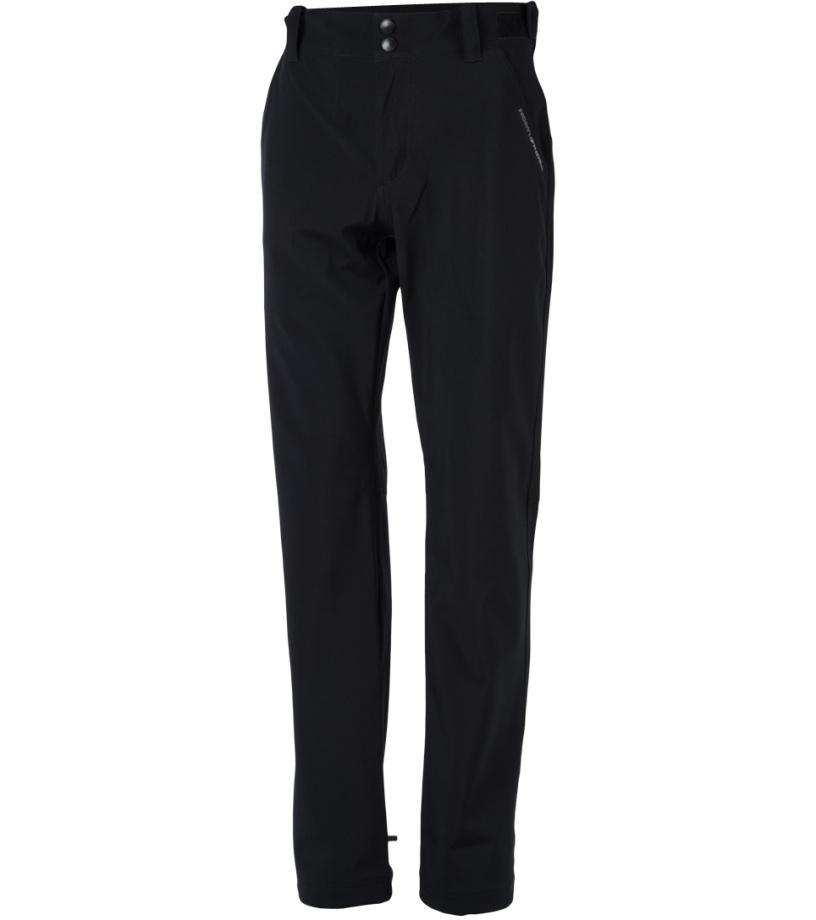 NORTHFINDER DEANDRE Pánské softshellové kalhoty NO-3400OR269 černá M