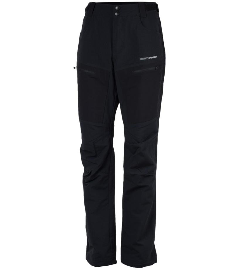NORTHFINDER DESHAWN Pánské kalhoty NO-3410OR269 černá