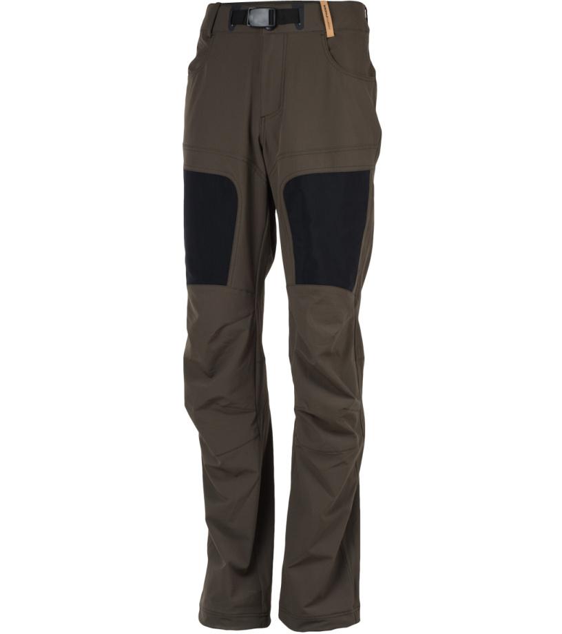 NORTHFINDER ORLANDO Pánské kalhoty NO-3415OR293 hnědá
