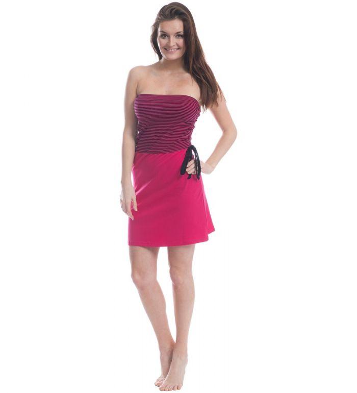 ALPINE PRO CORONA Dámské šaty - sukně LSKE008450PB virtual pink XS