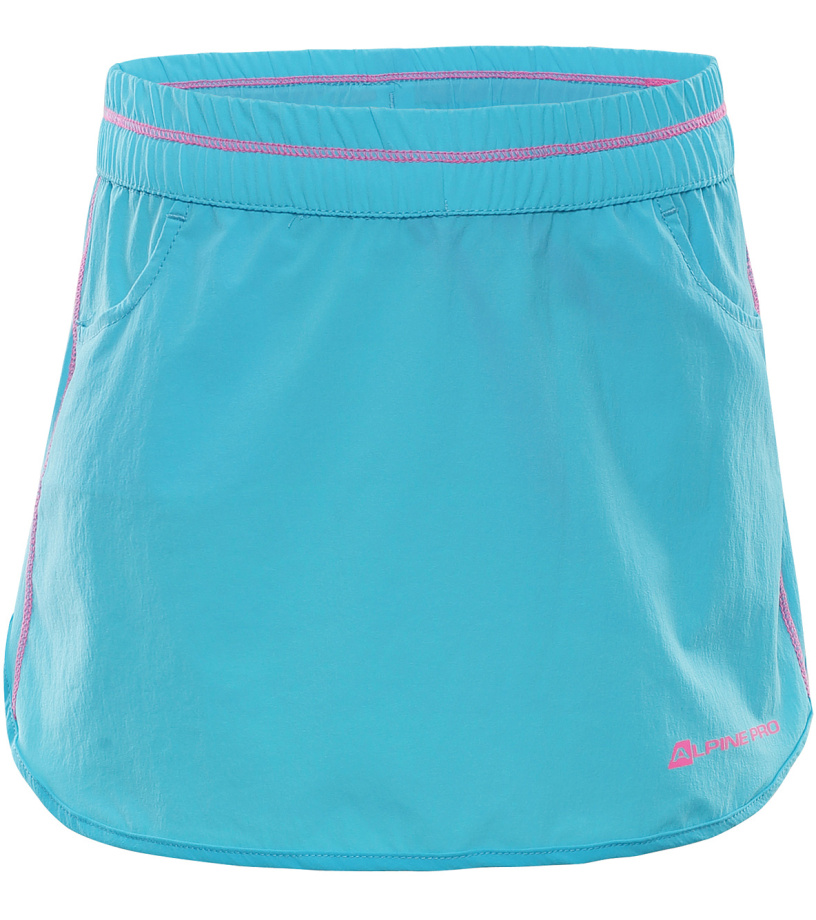 ALPINE PRO IBABO 2 Dětská sukně KSKL024622 tyrkysová