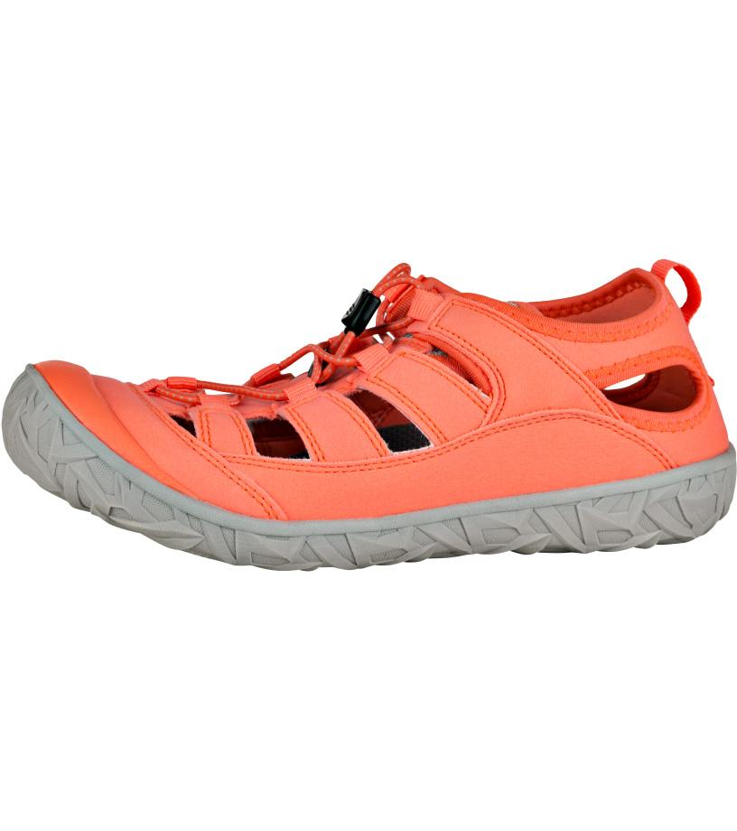 ALPINE PRO MADHURA Unisex obuv letní UBTJ122341 Neon coral