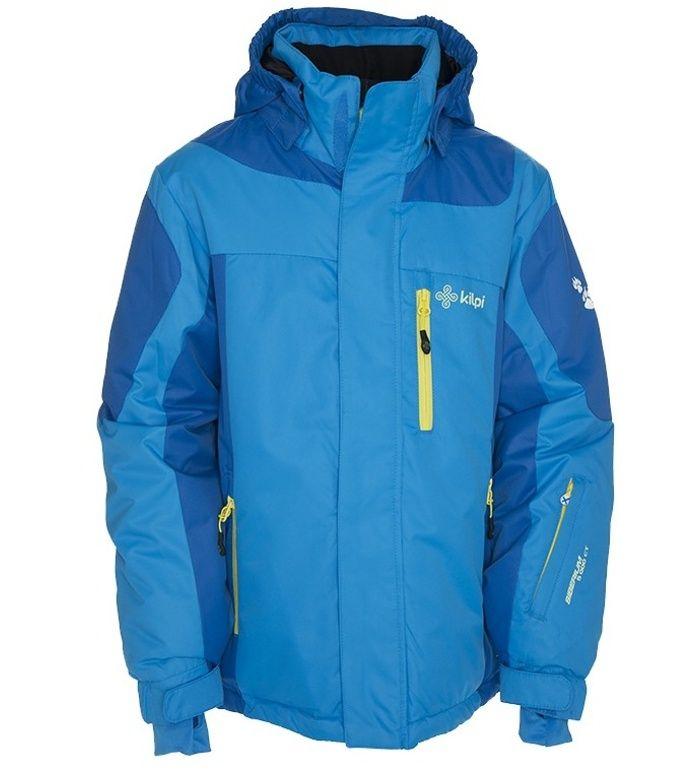 KILPI Dětská lyžařská bunda BAYRAM-K BK0011KIBLU Modrá 122_128