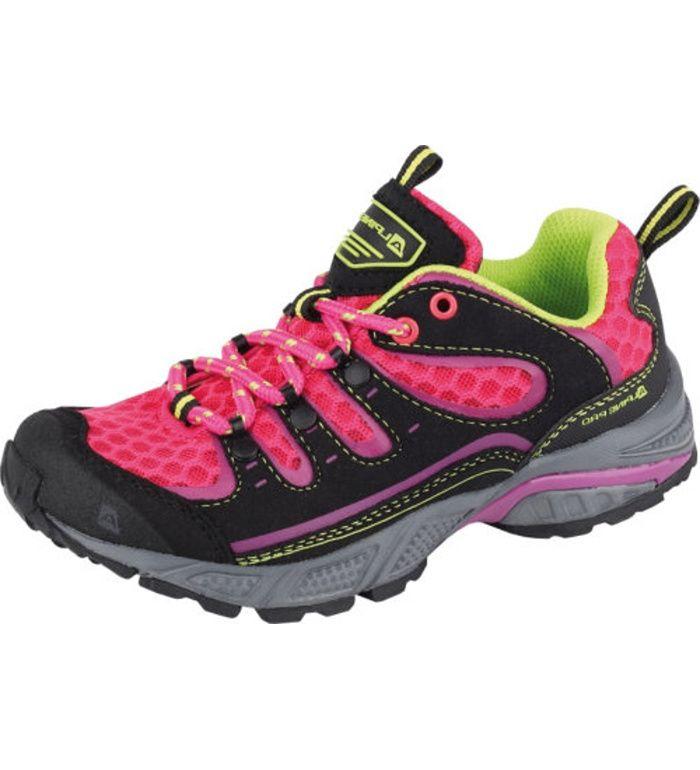 ALPINE PRO VIDARO Dětská sportovní obuv KBTE102450 virtual pink 32