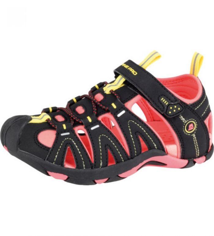 ALPINE PRO KARORA Dětská letní obuv KBTE106990 černá 35