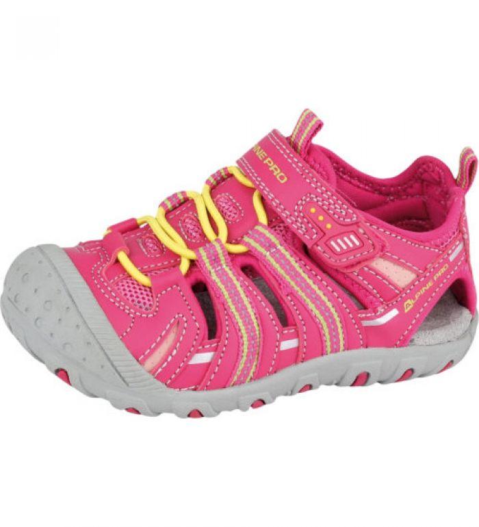 ALPINE PRO KANE Dětská letní obuv KBTE107450 virtual pink 25