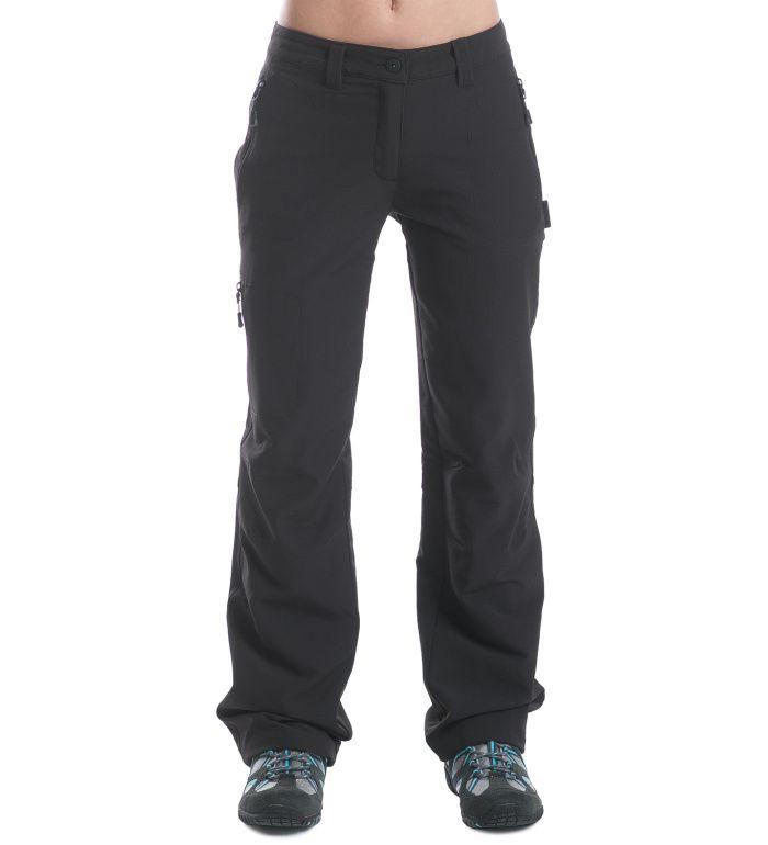 ALPINE PRO Muria Dámské kalhoty LPAE027990 černá 36-SH