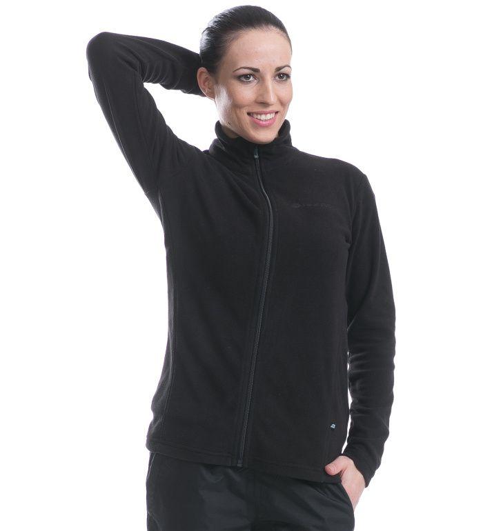 ALPINE PRO KIERA Dámská mikina LSWE035990 černá S-L