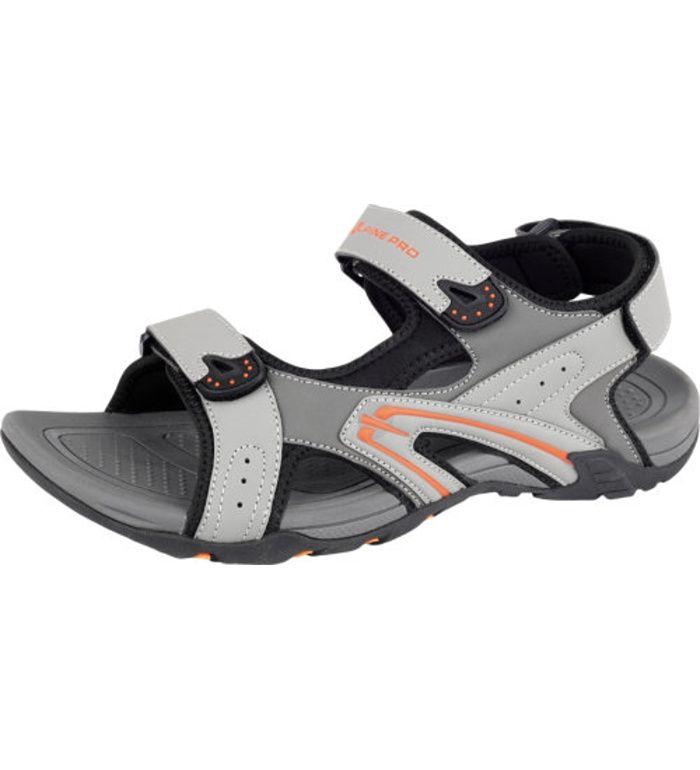 ALPINE PRO LARES Pánská letní obuv MBTE076779 tmavě šedá 45