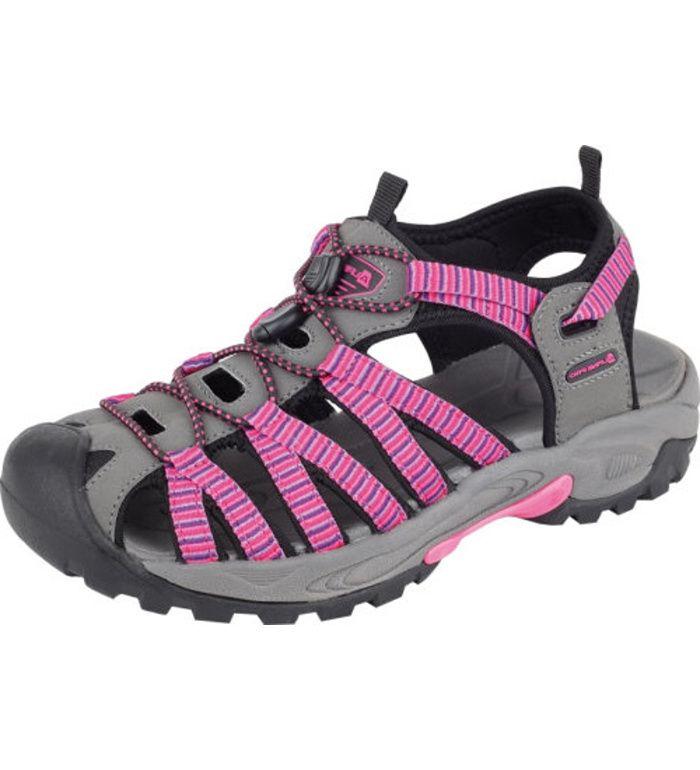 ALPINE PRO LANCASTER Uni letní obuv UBTE008450 virtual pink 36