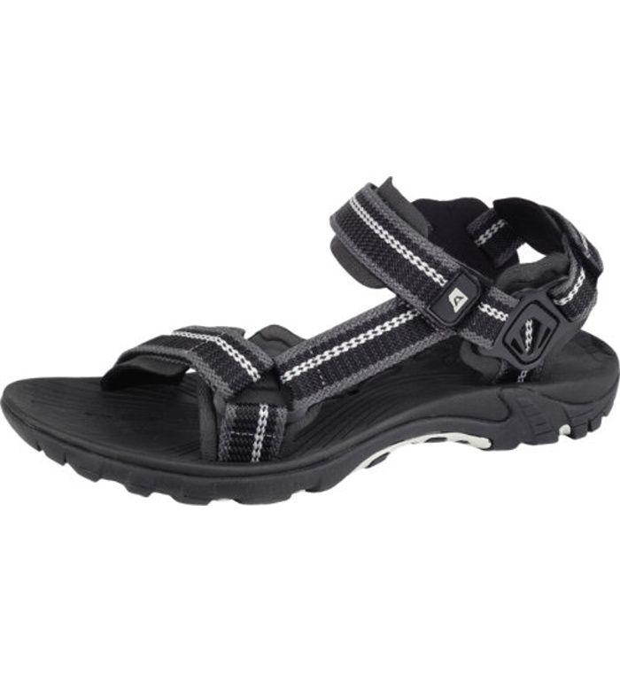 ALPINE PRO UZUME Uni letní obuv UBTE052990 černá 38