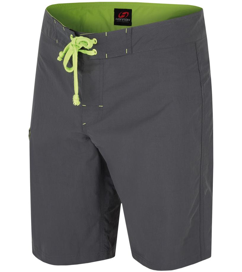 HANNAH Vecta Pánské šortky 118HH0036LK01 Dark shadow (green) S