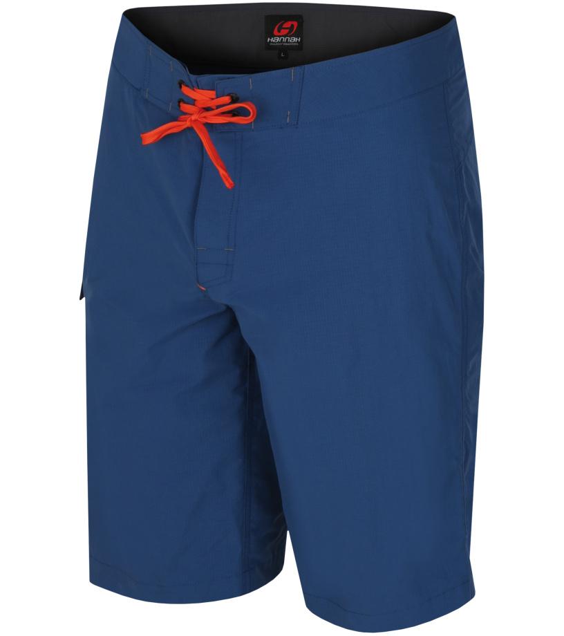 HANNAH Vecta Pánské šortky 118HH0036LK02 Ensign blue (orange) S